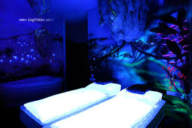 glow in the dark paint for wallsGlowing Murals Turn Dark Rooms Into Dreamy Worlds