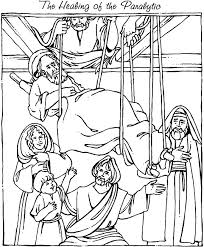Small Picture mark 21 12 coloring sheets New Testament 12 Jesus Heals a