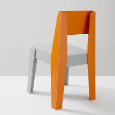 Butter Chair made of recycled plastic by DesignByThem