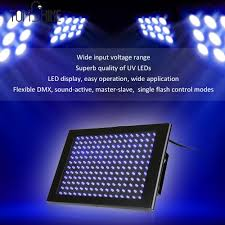 Led Panel Stage Lighting Us 50 3 37 Off 192pcs Leds Uv Stage Light Flat Panel Strobe Lamp Dmx512 Sound Activated Master Slave Single Flash Control For Dj Show Party In Stage