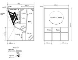 Speaker Box Design Plans Image Result For 15 Speaker Box In 2020 Subwoofer Box