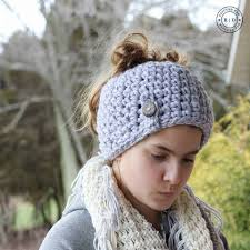 Messy Bun Beanie Knitting Pattern Simple Inspiration Ideas