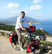 Stefano Cucca - the Sardinian man who left his home to bicycle around the world