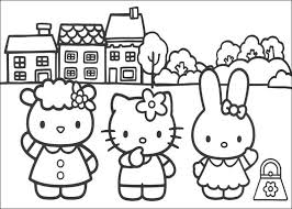 Small Picture Hello Kitty Pictures To Color Es Coloring Pages