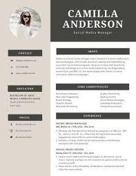 Modern Simple Resume Template Modern Simple Cream Grey Professional Resume Nursing Career