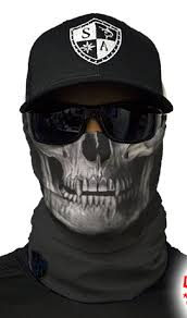 SA Co Face Shield <b>Mask</b> USA Skulls Fishing <b>Cycling Outdoor</b> ...