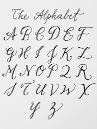 and my biggest muse: the alphabet! there are an infinite number of ways to  write out these letters and convey any feeling or meaning you'd like  through the ...