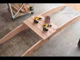 how to build a arched garden bridges