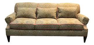 Paisley Sofa drexel heritage paisley couch chairish 2108 by uwakikaiketsu.us