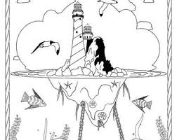 Small Picture Thomas Point Lighthouse Stress Relief Coloring Page for