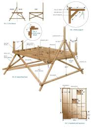 Free Freestanding Treehouse Plans .