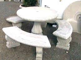 cement top outdoor dining table tables australia garden and 3 x chairs concrete benches fresh patio or round decorating glamorous con