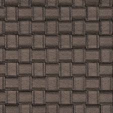 bronze basket woven upholstery faux leather by the yard contemporary upholstery fabric by palazzo fabrics