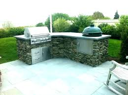 small outdoor kitchen island big green egg built in large specs