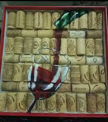 Открытка из <b>пробок</b> Картина на пробках <b>Пробка</b> Красное вино ...