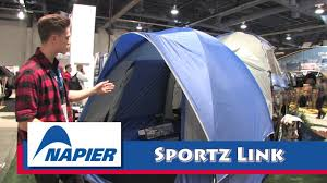 Napier Sportz Link for Truck Tent—can withstand 40 Kilometers per Hour winds!