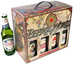 beers of the world 8 bottle box offer your customers a selection of beers from around the world chosen by you not a selection of only one brewery s