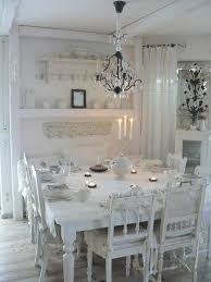 large square table and mismatched chairs love it room needs more pertaining to white shabby chic chic dining room table