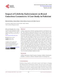 (PDF) Impact of Celebrity Endorsement on <b>Brand</b> Conscious ...