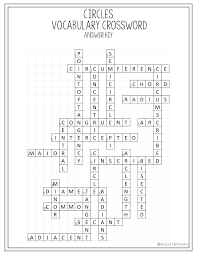 circles voary crossword