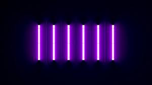 Wallpaper Neon Purple Desktop