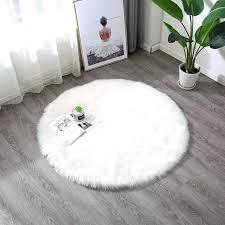 white faux fur rug white faux sheepskin area rug chair cover seat pad plain gy area white faux fur rug