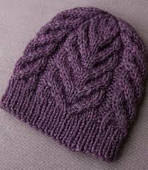 Cable Knit Hat Pattern Free