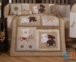 teddy bear crib sheet geenny boutique 13 piece crib bedding set baby teddy bear walls