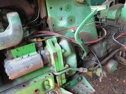 john deere 3020 diesel 24v electrical system john deere 4020 12 volt starter at John Deere 4020 24v To 12v Conversion Wiring Diagram