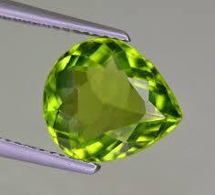 3 85 Cts Ring Size Peridot Gemstone From Pakistan