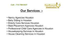 Professional Babysitting Services House Cleaning And Babysitting Services In Houston