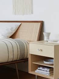 collections nelson thin edge bedside table collections