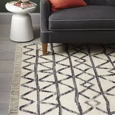 bold black and white rugs for any room in your home