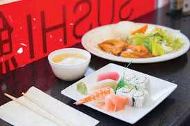 order at the counter and settle in at one of the tables to enjoy inexpensive no frills japanese food including sushi rolls sashimi bowls udon noodles