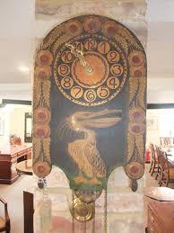 arts and crafts wall clock hingstons