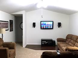 fireplace and brick chimney diy removal picture after with media wall