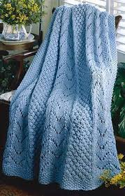 Knitted Afghan Patterns Interesting Free Knitting Patterns For A Fan Afghan Knitted Baby Blankets