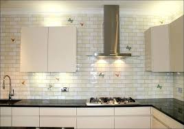 large subway tile backsplash kitchen large subway tile off white subway tile glass subway tile white