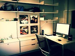 Furniture office workspace cool macbook air Psd Home Office Setup By Jarrold Inspire Design Home Office Setup Dell 24