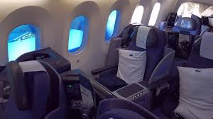 inside united businessfirst cabin boeing 787 9 dreamliner and more