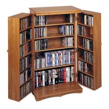 Cherry Wood Dvd Storage Cabinet Mission Music And Movie Cabinet Herrington Catalog