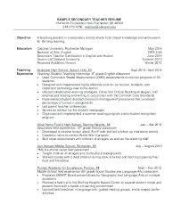Teacher Resume Objective Inspiration 2921 Resume Objective Teacher Resume Bank