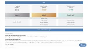 webeyecare rewards club loyalty tiers