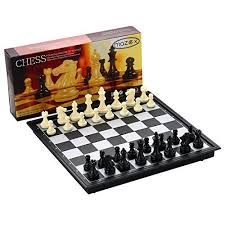Magnetic Folding Chess Set For By MAZEX Kids Or Adults Board Game... | EBay