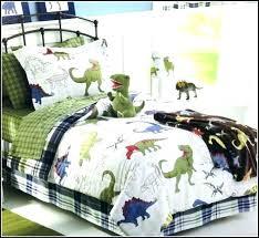 dinosaur bedding twin set size train