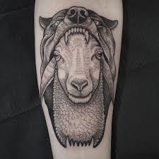 татуировка овца значение эскизы фото и видео Infotattoo