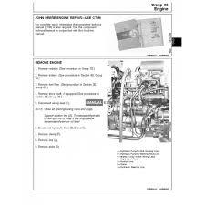 john deere tm1520 technical manual 5200 5300 5400 tractors