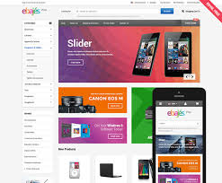 Free Responsive Website Templates Extraordinary Ebajes Free Responsive Bigcommerce Template Initial Release