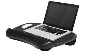 com lapgear xl laptop lap desk with left right mouse pads black computers accessories