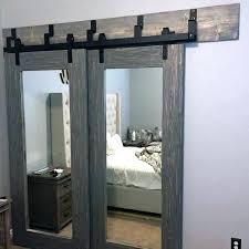 barn mirror closet door ideas unique